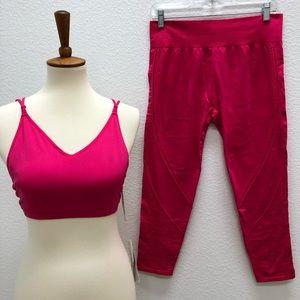 Fabletics Dara medium Bralette hot pink